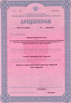 licenziya 111